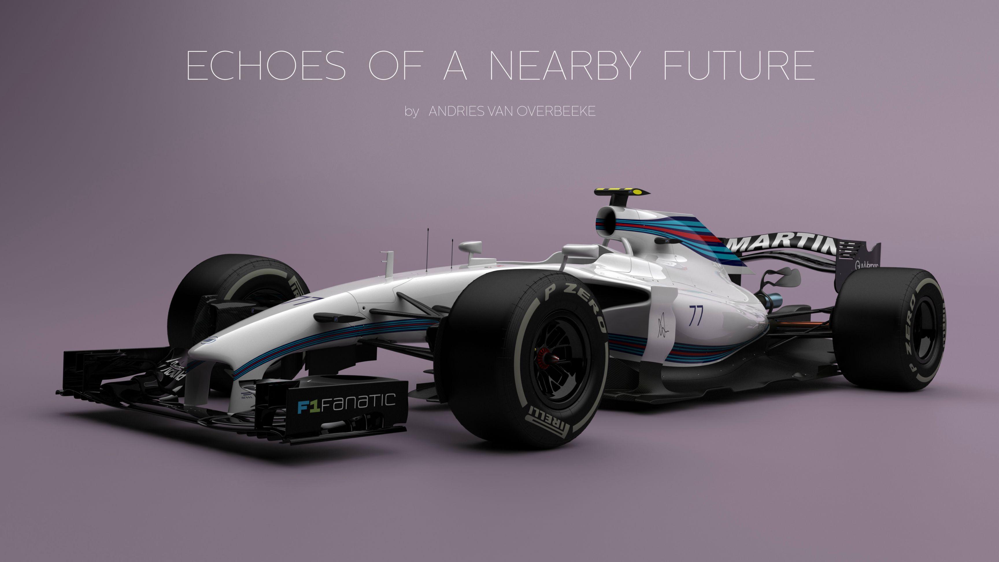 E se os carros de F³rmula 1 do futuro fossem assim F1