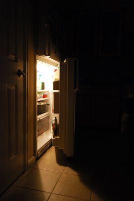 Refrigerator At Night Google Search Dark And Light