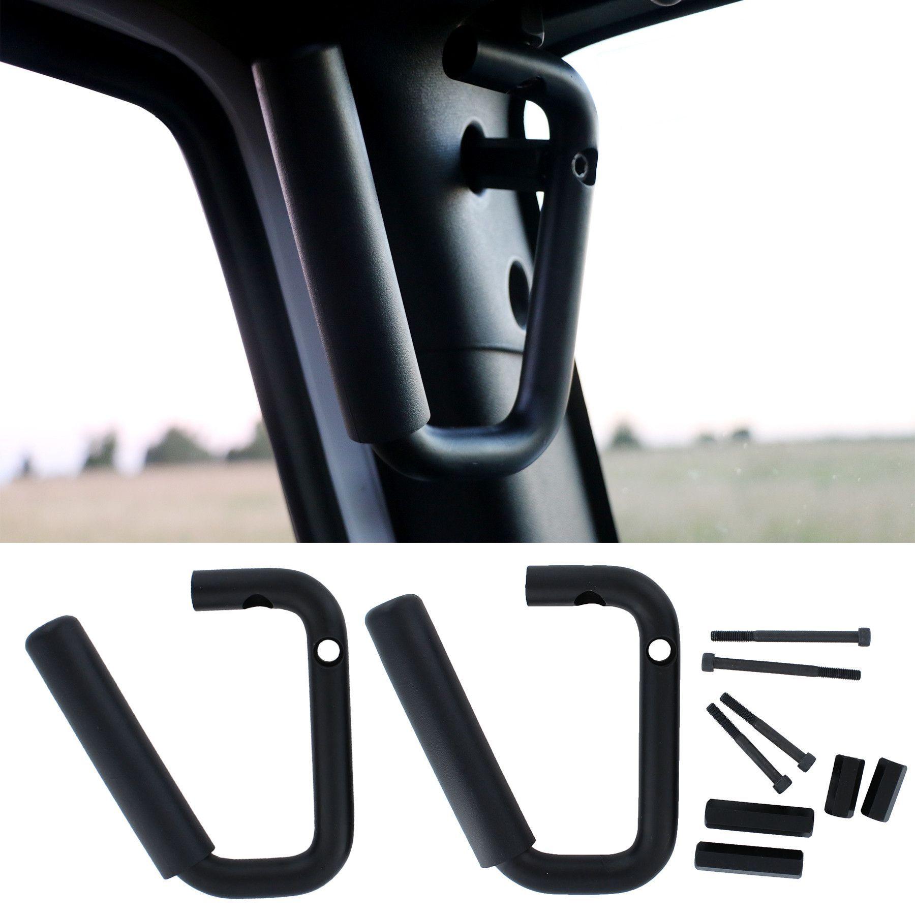 Jeep Wrangler Grab Handles Black 2007 2017 2 Door & 4 Door Bar Kit