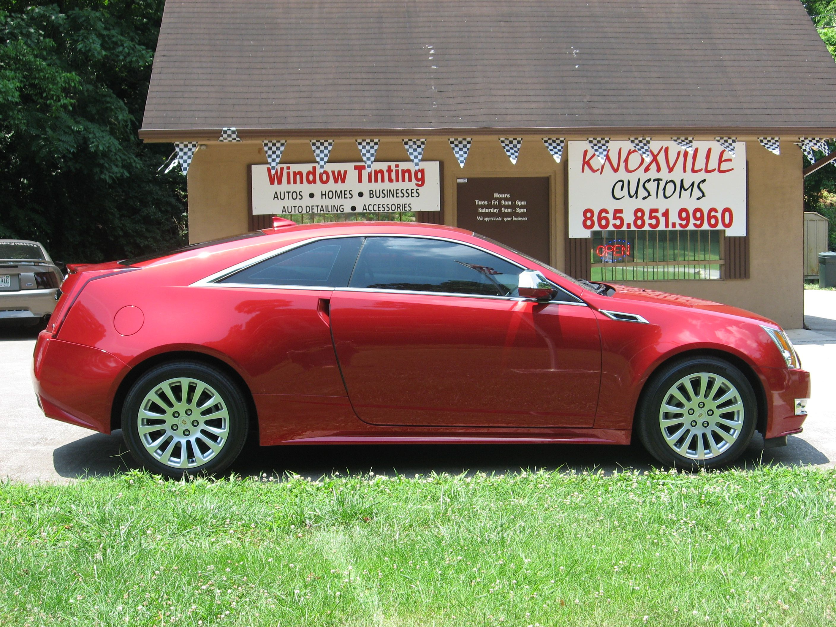 Cadillac cts coupe tinted with 35