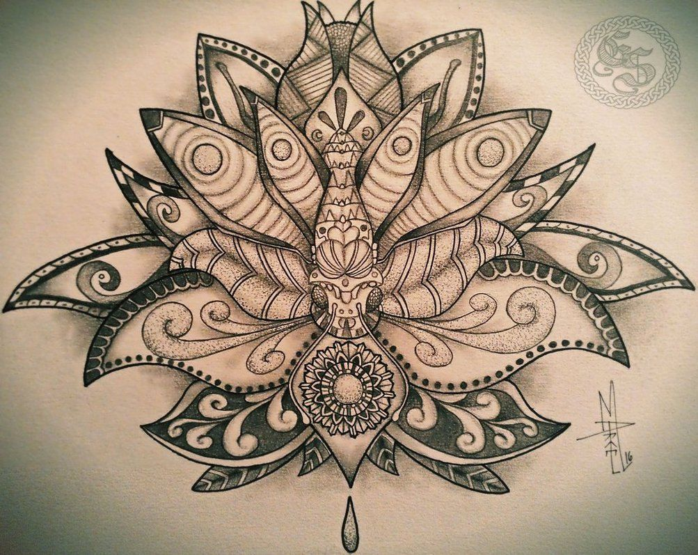 Lotus by marcelolicosta tattoo designs pinterest lotus tattoo