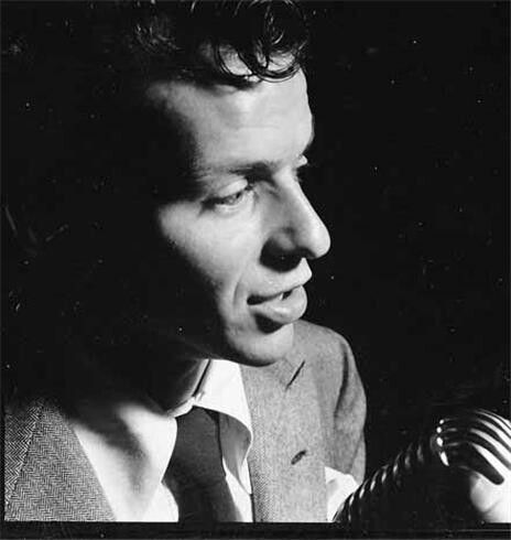 Frank Sinatra by Peter Martin