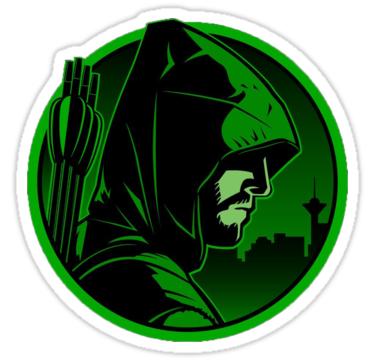 Arrow Sticker By Millenium1964 In 2021 Arrow Poster Green Arrow Arrow Illustration