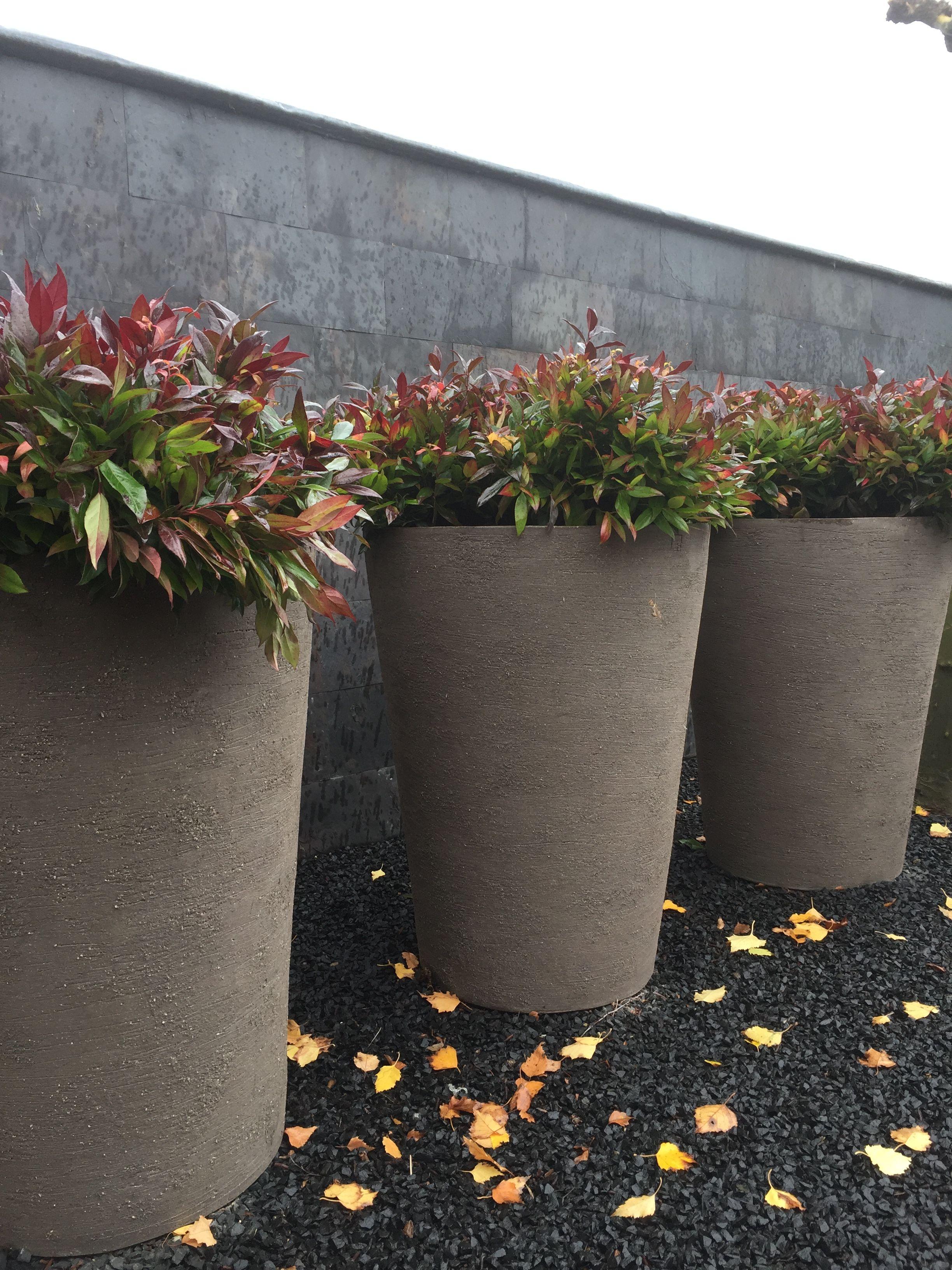 Handgemaakte aardewerk vorstbestendige potten AtelierVierkant tuinstyling tuininrichting Aardewerk Potten
