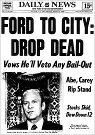 Infamous Drop Dead Was Never Said By Ford New York Daily News