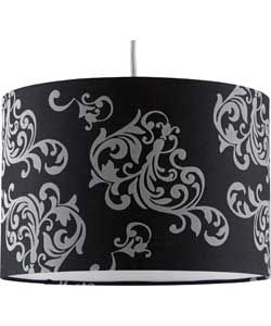 Buy inspire flock shade black and silver at argos your buy inspire flock shade black and silver at argos your aloadofball Gallery