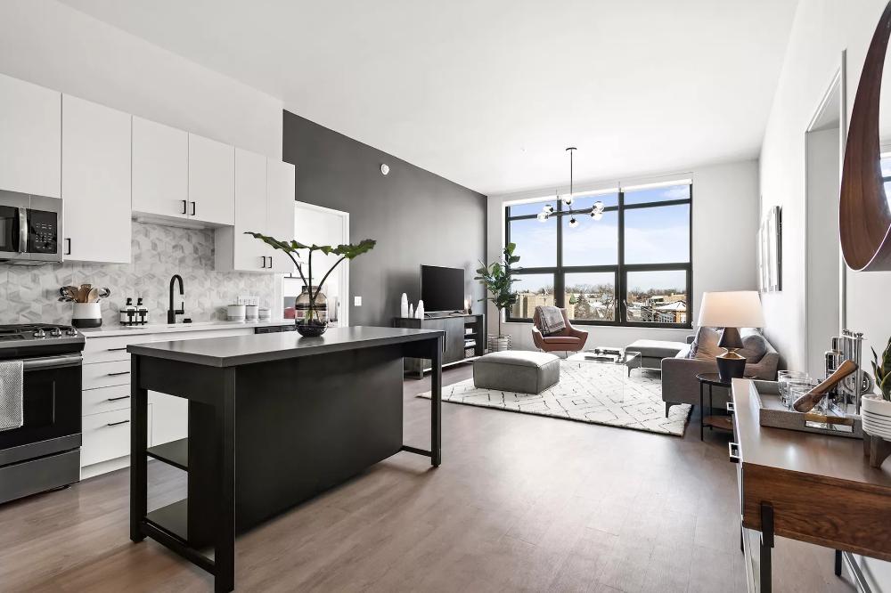 In Logan Square Studio Apartments At Former Megamall Will Start At 1 895 Studio Apartment Luxury Apartments Apartment