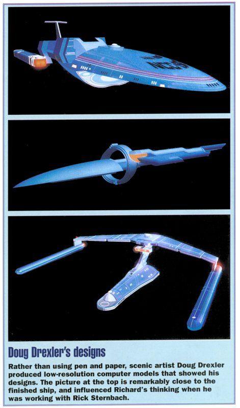 Uss voyager concept art trek ship designs pinterest for Wohnung star trek design