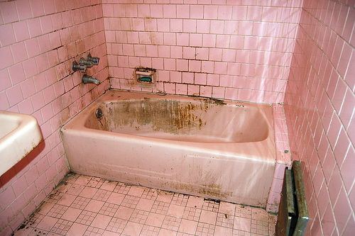 Fresh We can try to clean this tub Inspirational - New pink bathtub In 2018