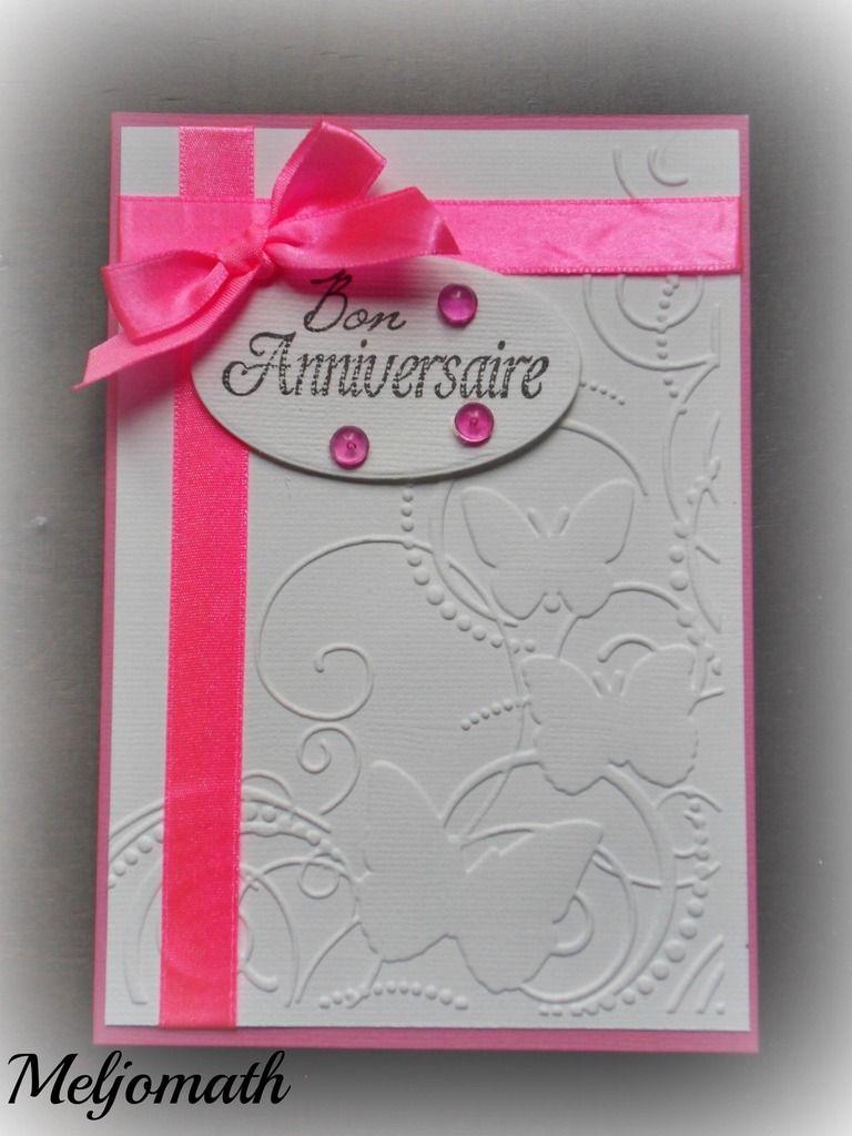 carte anniversaire mes cartes scrap pinterest carte anniversaire anniversaires et cartes. Black Bedroom Furniture Sets. Home Design Ideas