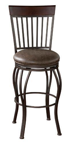 american heritage billiards torrance counter height stool gray
