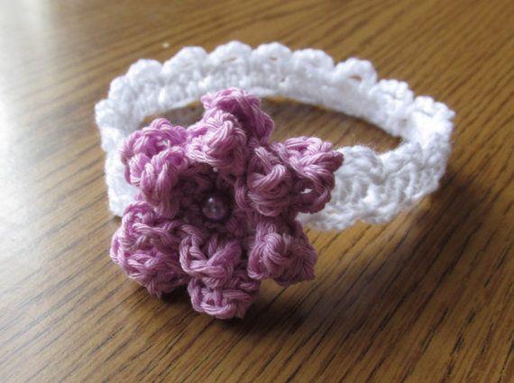 crochet headbands , summer headband, bow pattern, hairband ...
