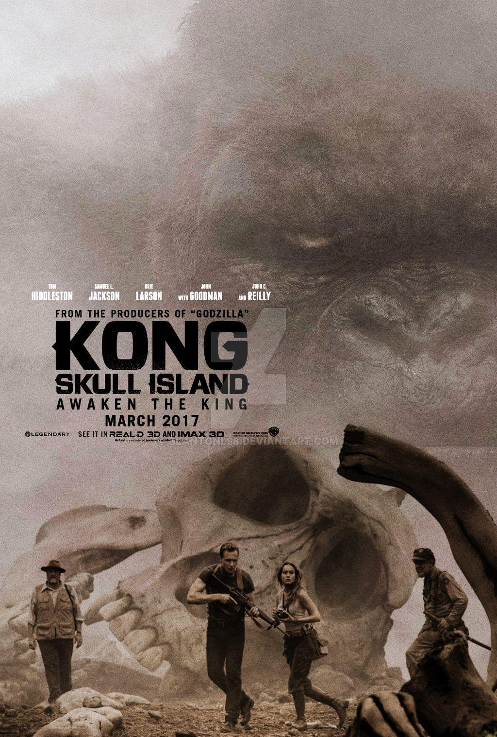 Kong Skull Island Movie Poster By Blantonl98 Http Blantonl98 Deviantart Com Art Kong Sk Kong Skull Island Movies Skull Island Movie King Kong Skull Island