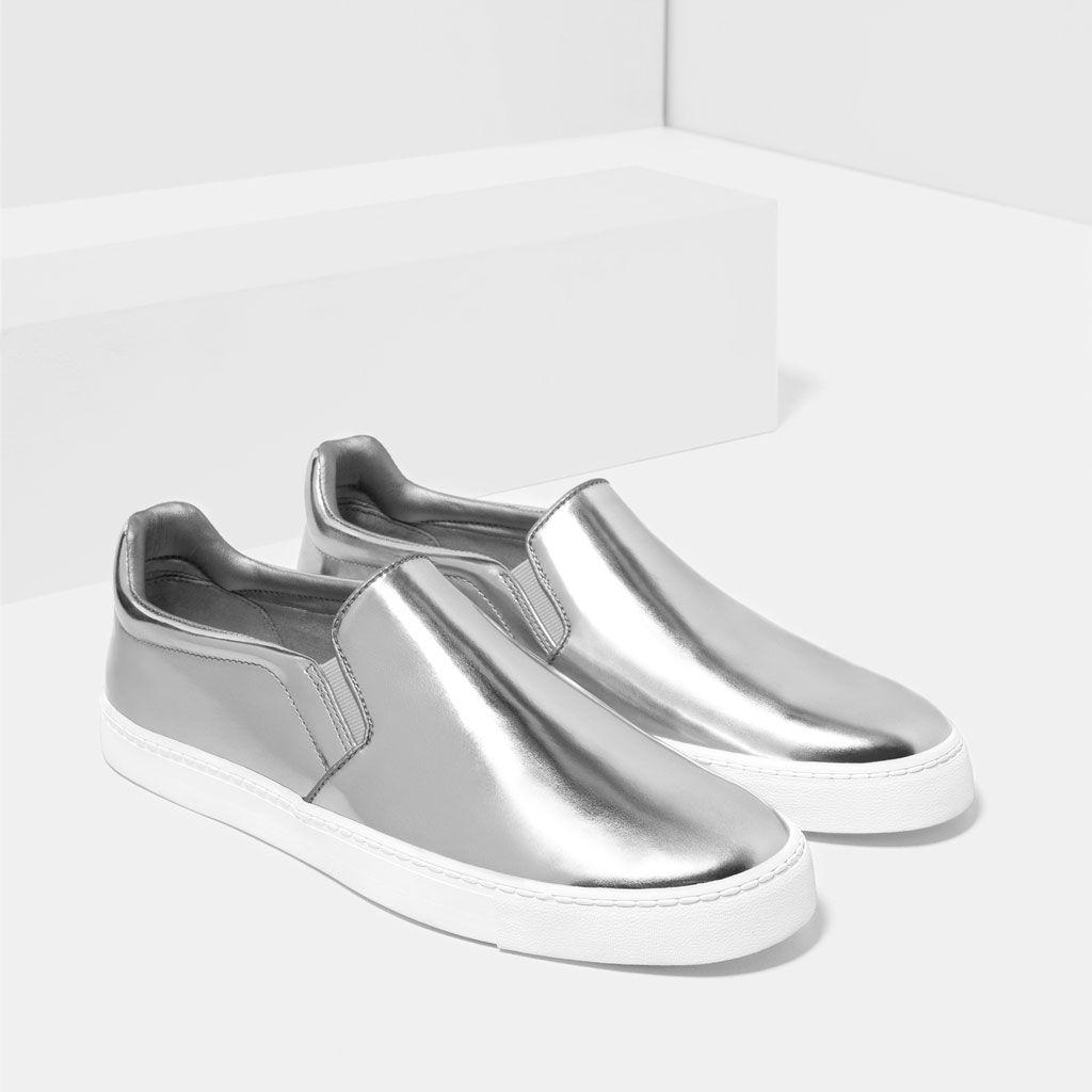 Zapatos Talla 25½ Zara Ver Deportivo TodoDesde Hombre Plateado j3A4Lq5R