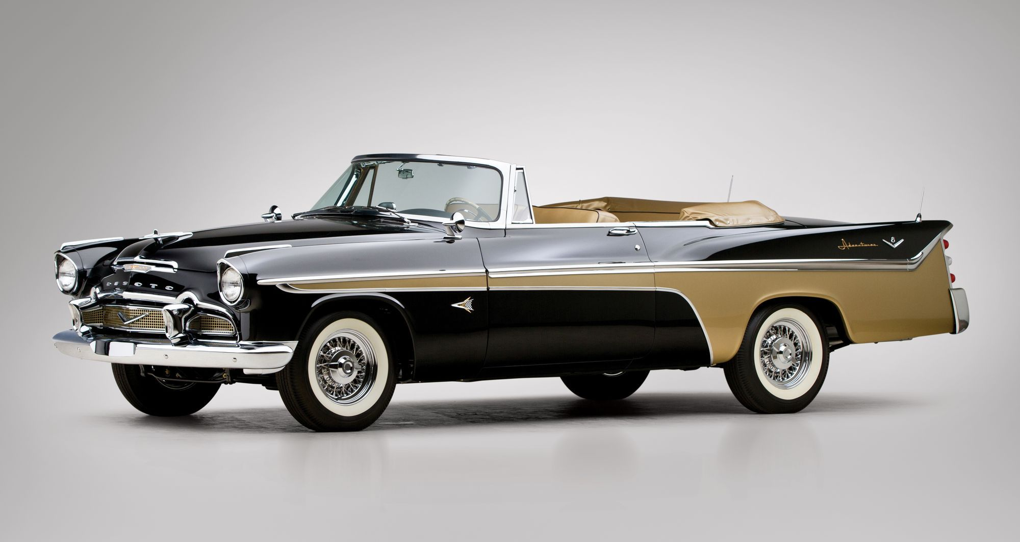 One-of-none 1956 De Soto Adventurer convertible to cross the block | Hemmings Daily