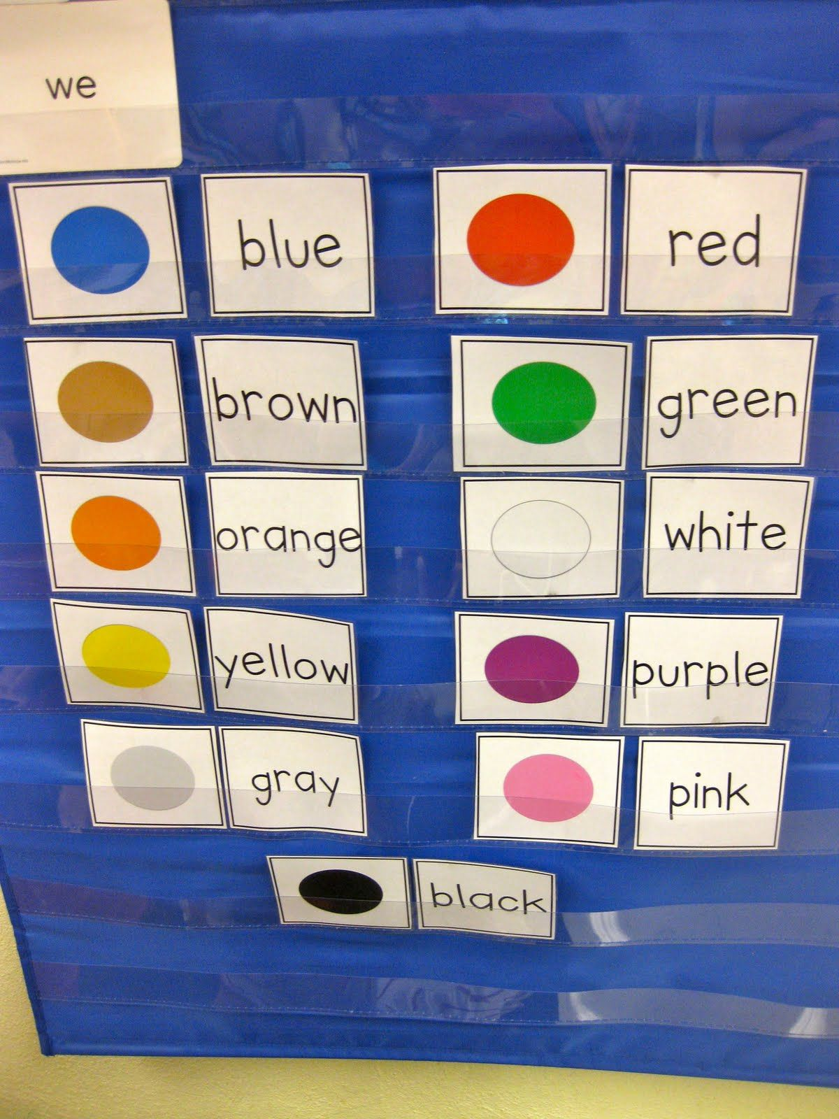 Read Color Word And Match To The Colored Dot