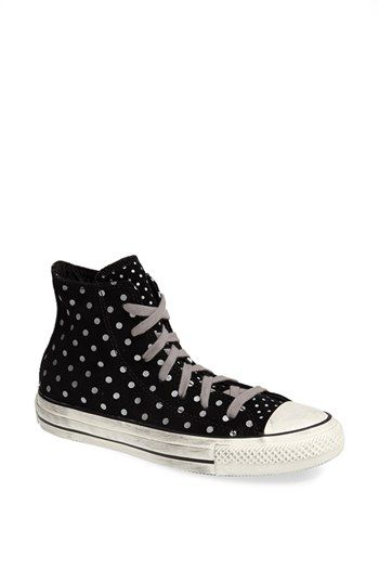 Converse Chuck Taylor® All Star®  Dot  High Top Sneaker (Women) available  at  Nordstrom c926b7440