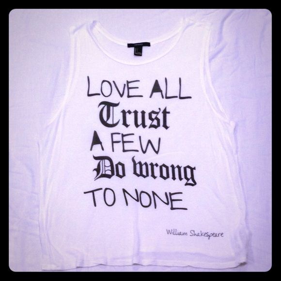 Short Shakespeare Quotes Sleeveless Tshirt  Short Sleeves 21St And Conditioning