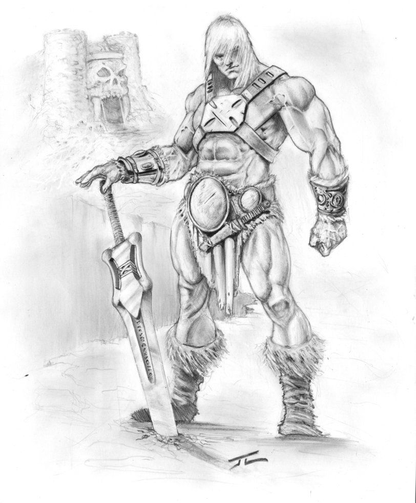 He-Man commish by GumboAssassin