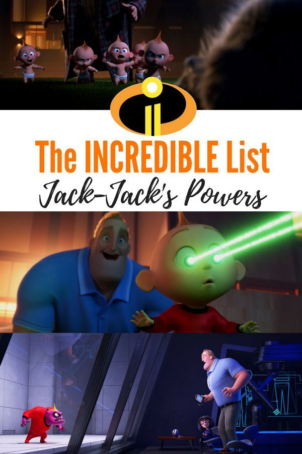 the incredibles list of jack jack s powers check out how many superpowers the baby has in incredibles 2 incredibles2 incredibles pixar jackjack