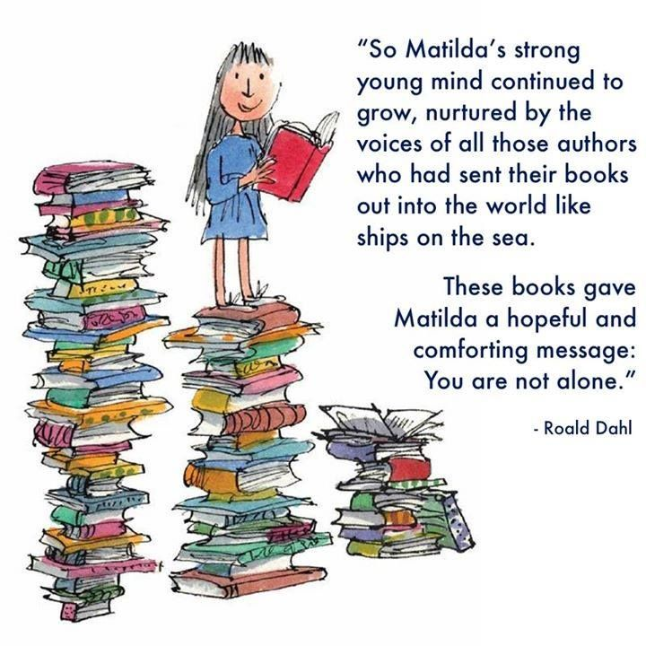 These books gave Matilda a hopeful and forting message