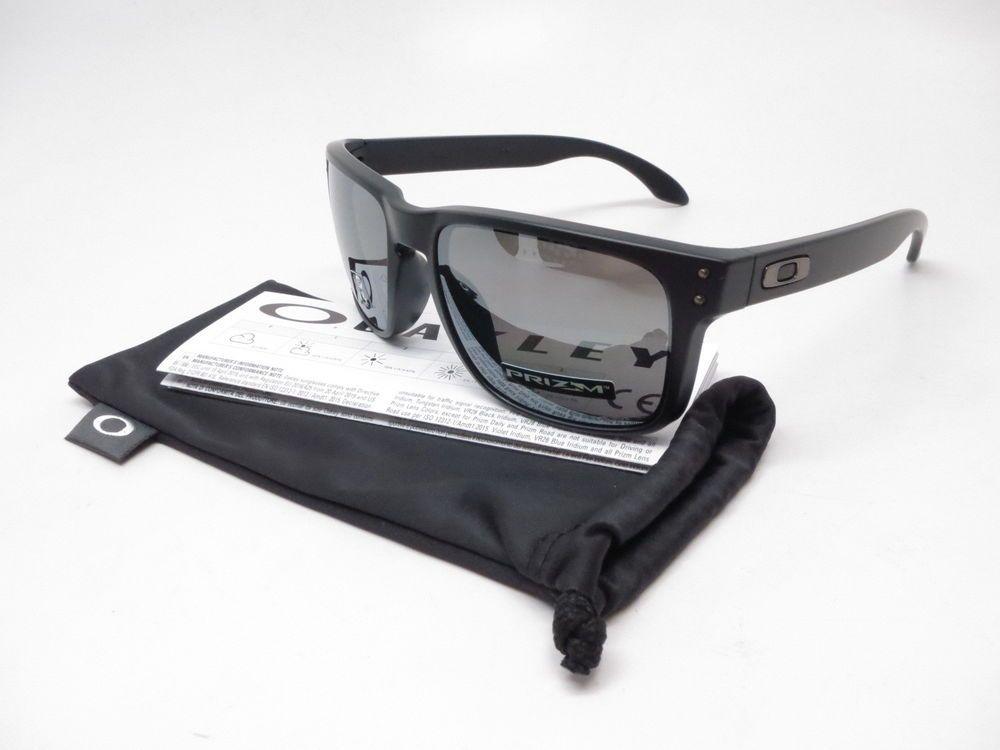 a812157a8ffec Oakley Holbrook Sunglasses Product Info   Brand   Oakley Model Number    OO9102-D655 Model Name   Holbrook Frame Color   Matte Black Lens Color    Prizm Black ...