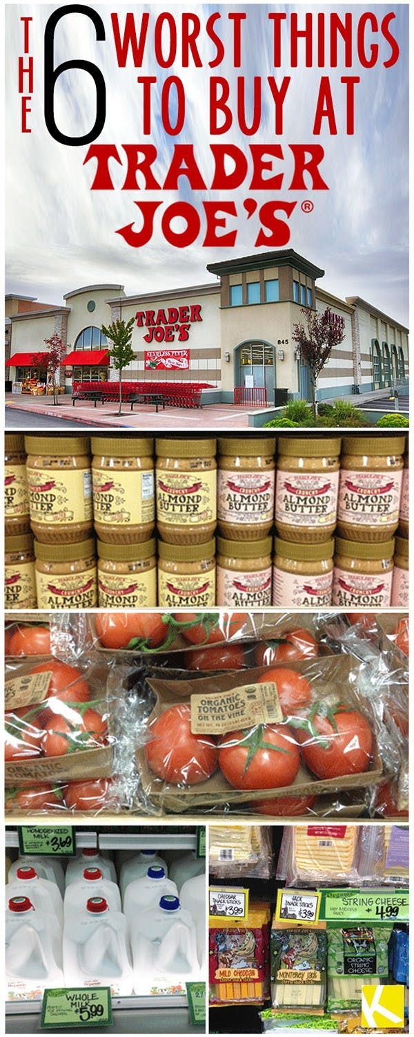 Don't Buy These 6 Items at Trader Joe's in 2020  Trader joes, Trader joes shopping list, Food