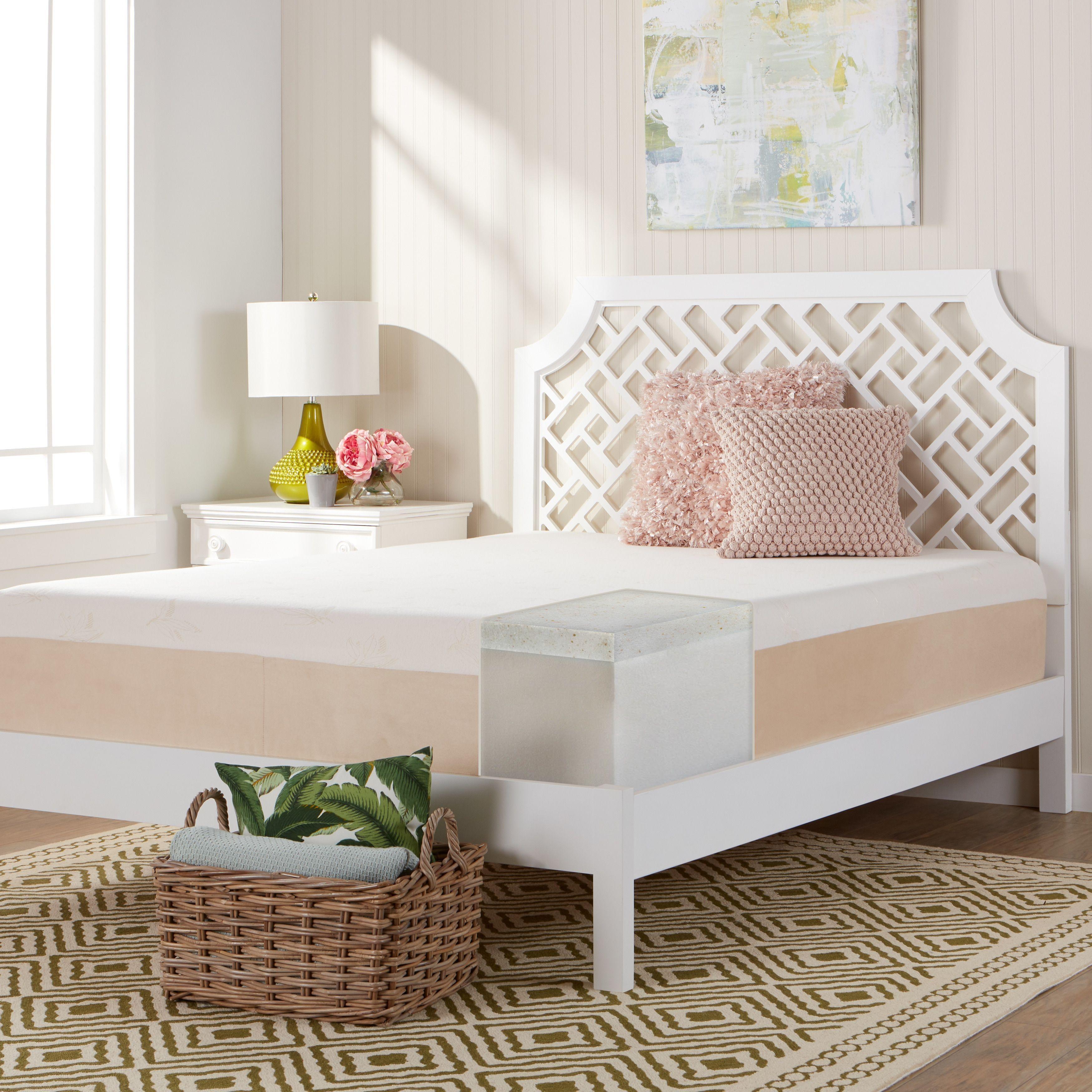 comfort dreams select a firmness 14 inch twin xl size copper brown