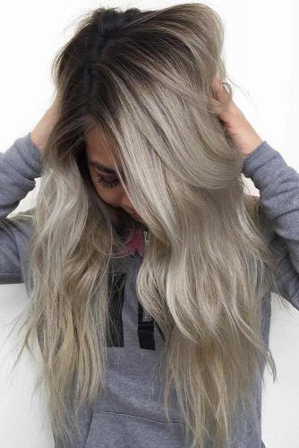 Awesome ash Blonde Color Hair