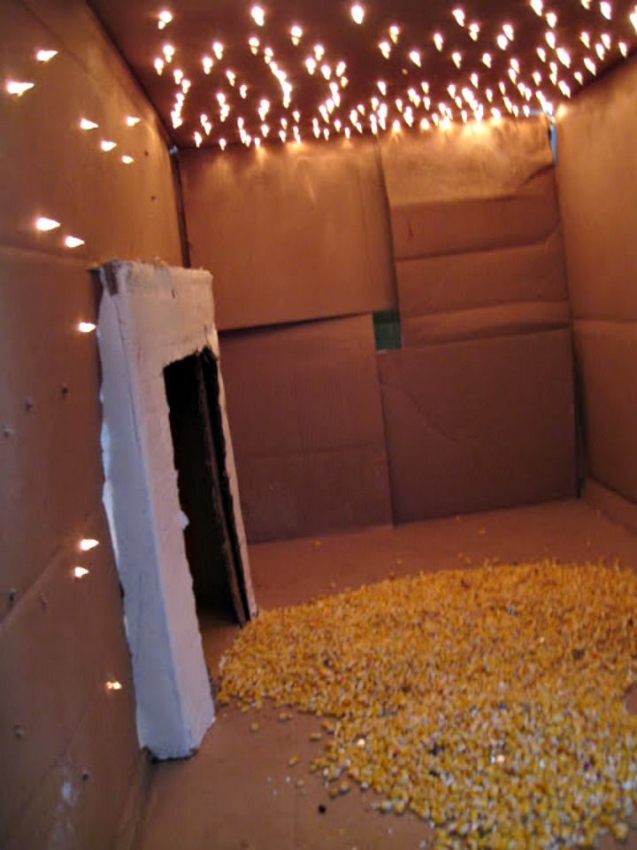 Light Box Fort Want Need Love Indoor Forts Diy