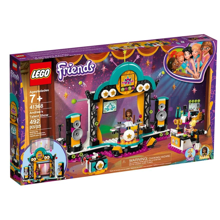Lego Friends Andreas Talent Show 41368 Products Lego Friends