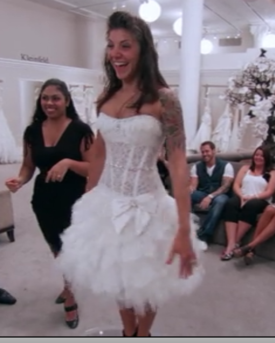 What Was The Ugliest Wedding Dress: Share The Ugliest Dress You've Seen.