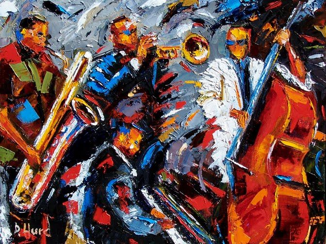 Jazz Paintings Cityscapes Street Scenes Abstract Jazz Art Jazz Music John Coltrane Miles Davis Louis Armstrong C Jazz Art Jazz Music Art Jazz Painting