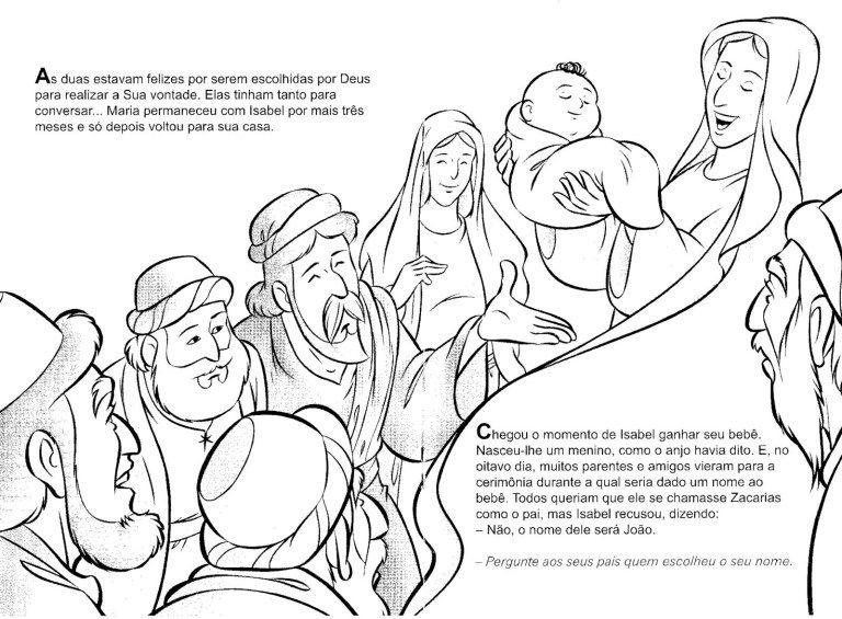 30 Atividades Biblicas Sobre Joao Batista Para Imprimir E Colorir