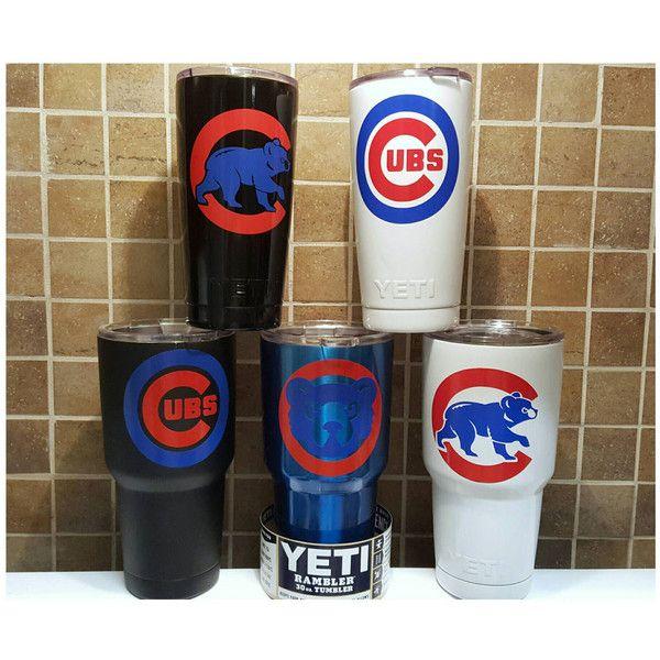 Yeti Authentic Chicago Cubs Yeti Cup Mug 20 Oz or 30oz