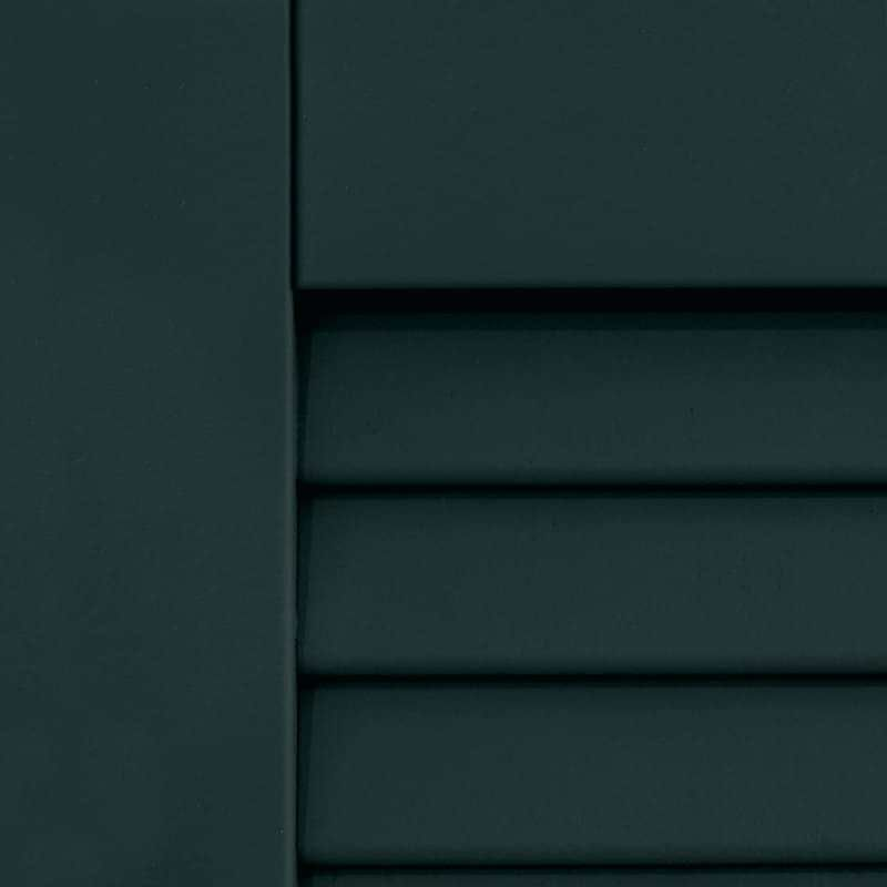 Benjamin Moore Black Forest Green Dark Shutters Painted For An Exterior House Paint
