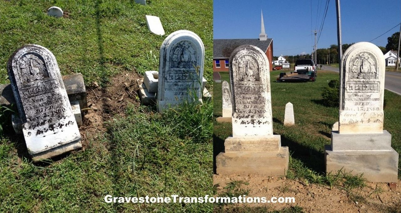 Hire Gravestone Transformations to perform conservation