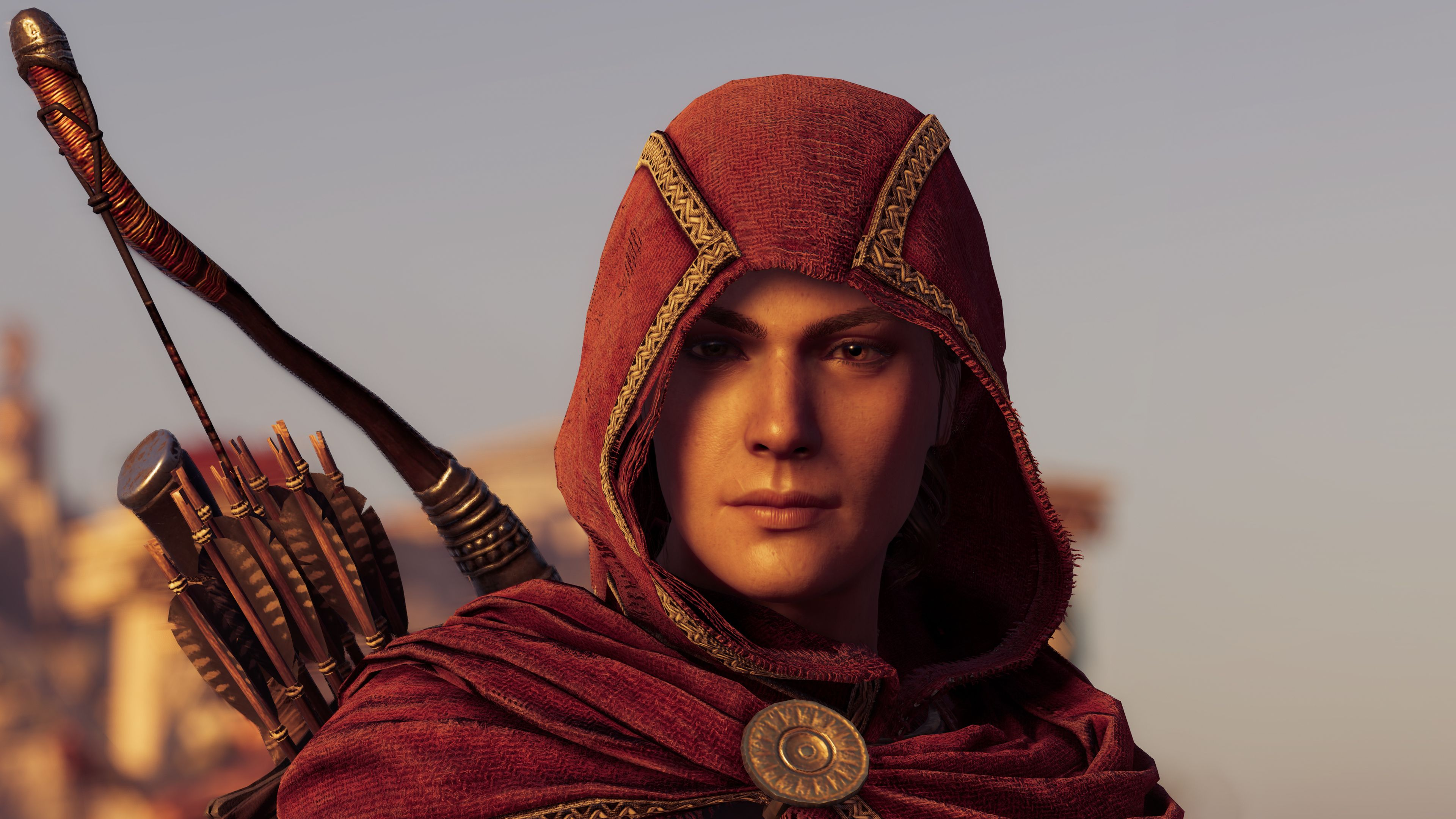 Wallpaper 4k Kassandra In Assassins Creed Odyssey 4k 2018 Games