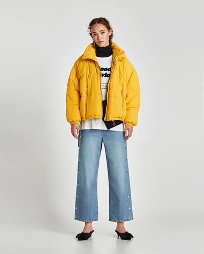 Zara winterjacken damen sale