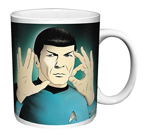 Star Trek Mr Spock Live Long and Prosper Illustration SciFi TV