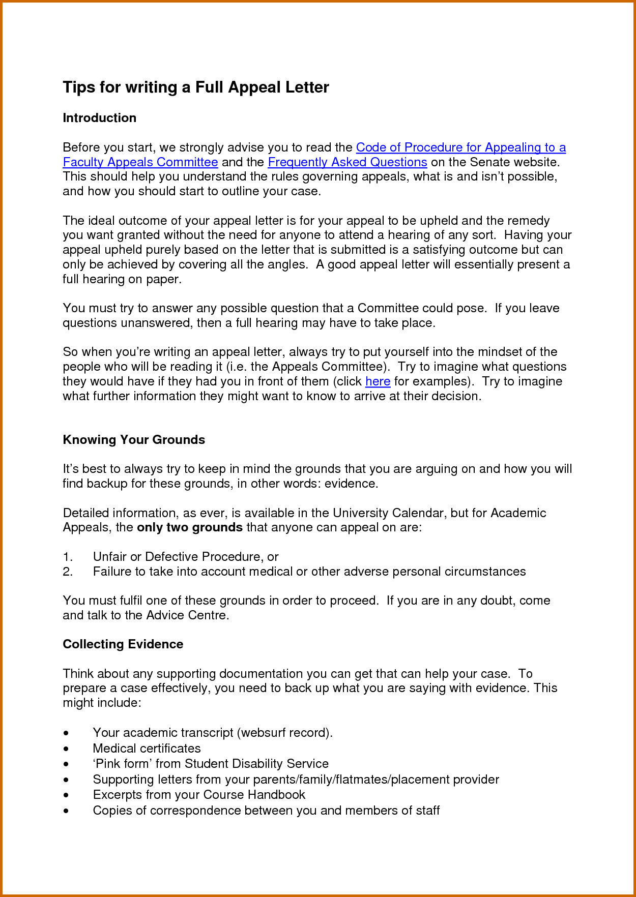 How To Write A Good Appeal Letter For Secondary School Http