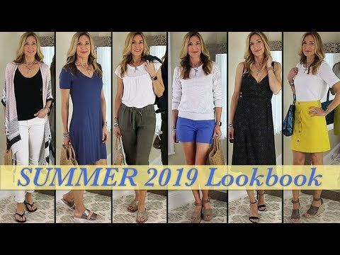 bfddf8ee5 (157) Lookbook Summer 2019 | Outfit Ideas for Women Over 50! - YouTube
