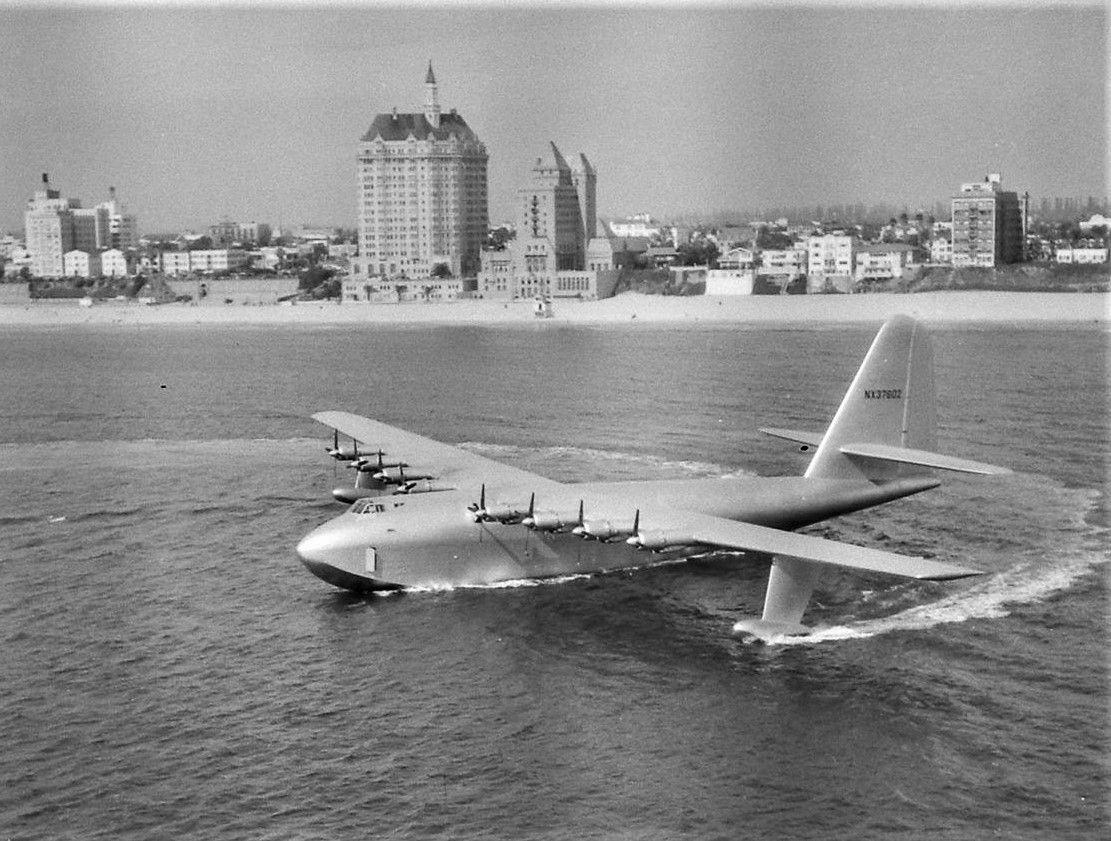 The Hughes H4 Hercules, Spruce Goose, on 2 November 1947