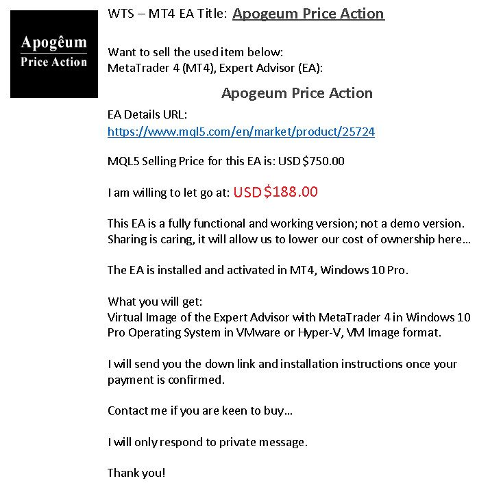 Apogeum Price Action Ea
