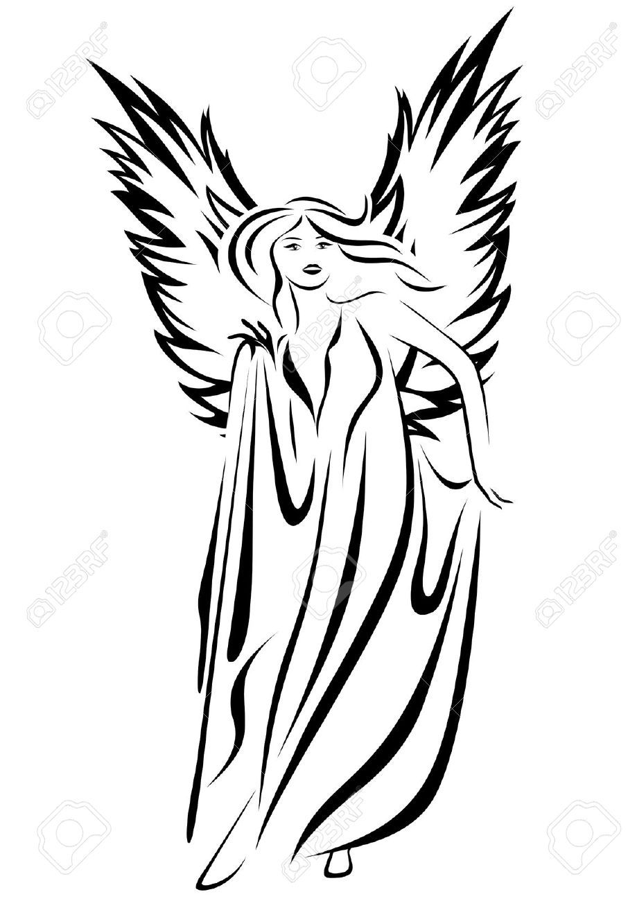 Simple illustration of angels google search