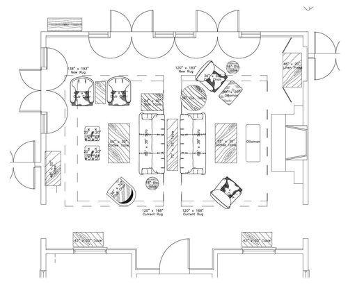 Island House Floor Plan Large Living Room Living Room Furniture