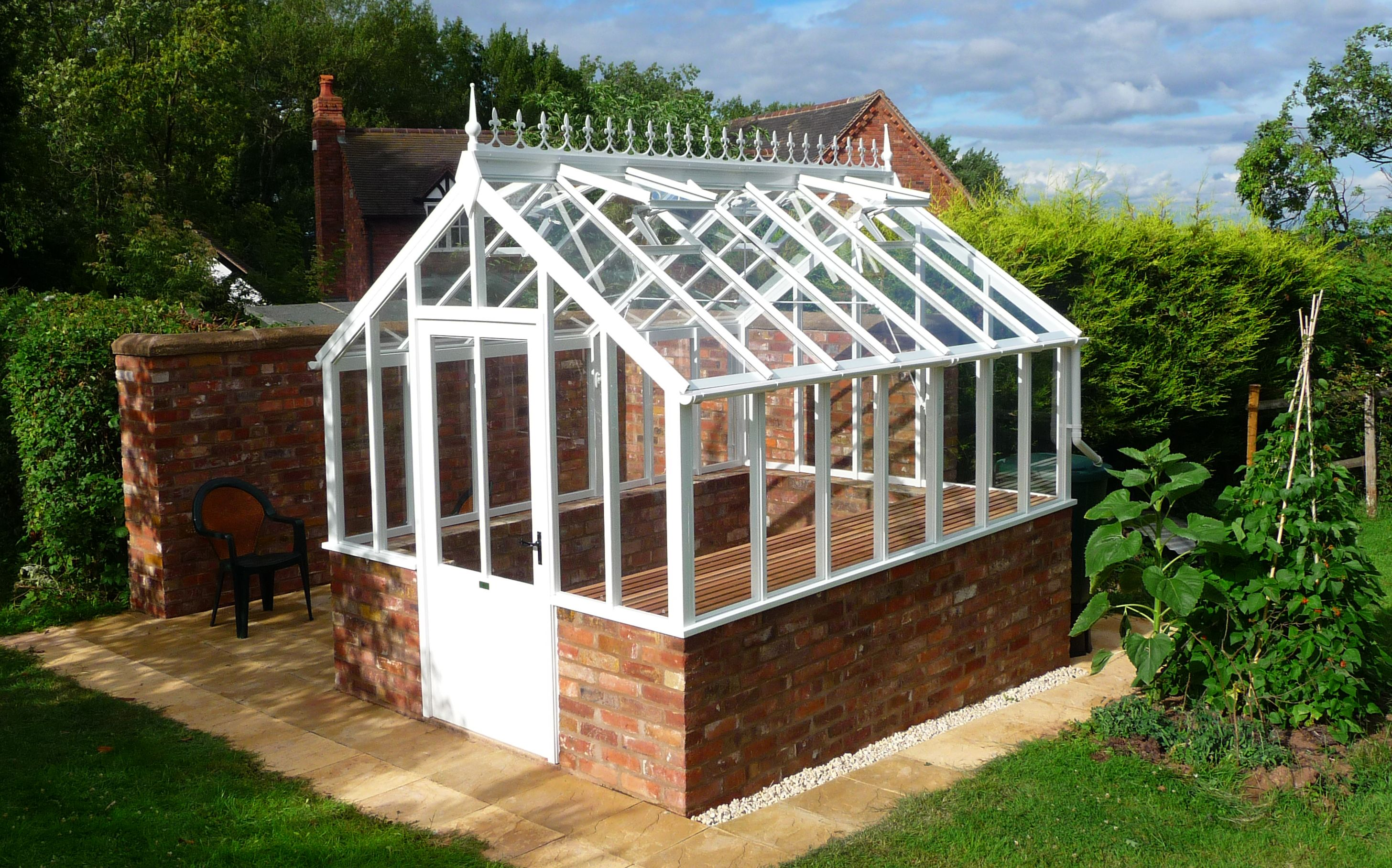 Our greenhouses make every garden look beautiful Request ...