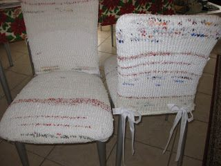 Copri sedie ~ Birbolina coprisedie riciclo