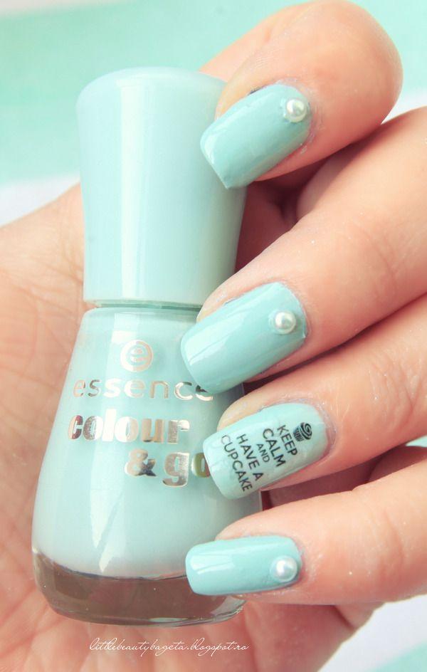 thats what i mint - NOTD | nail mania | Pinterest | Mantenga la ...
