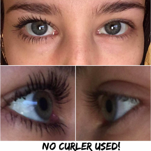 Seacret mascara with new technology. #smudgeproof